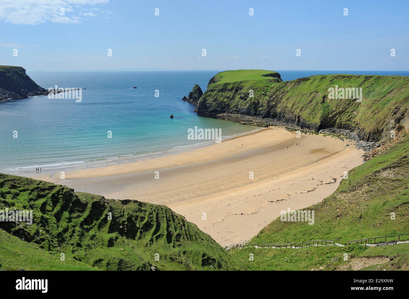 Ireland, County Donegal, Malin Beg beach - Stock Image