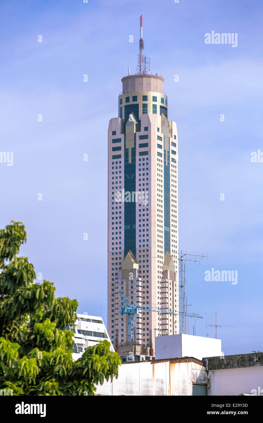 Baiyoke Sky Hotel In Bangkok Thailand The Tallest Building In