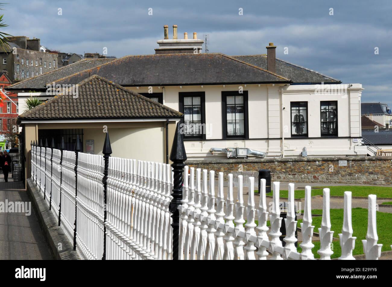 Ireland, Cork County, port city of Cobh, Titanic Museum - Stock Image