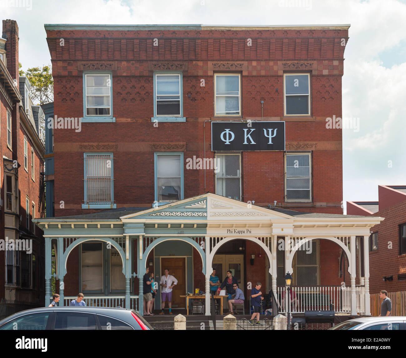 Fraternity House Usa Stock Photos Amp Fraternity House Usa