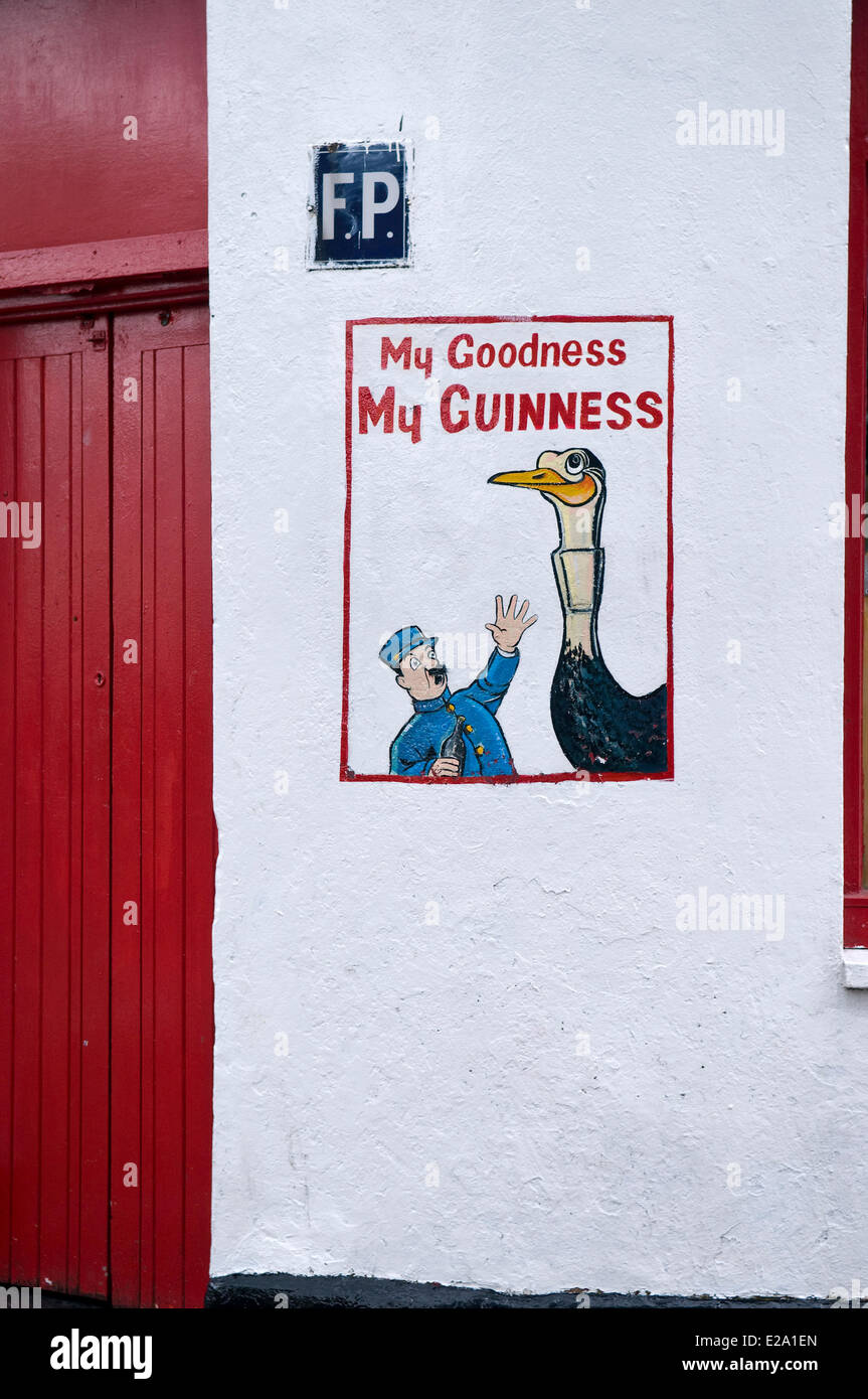 Republic of Ireland, Connemara, Connacht Province, County and city of Galway - Stock Image