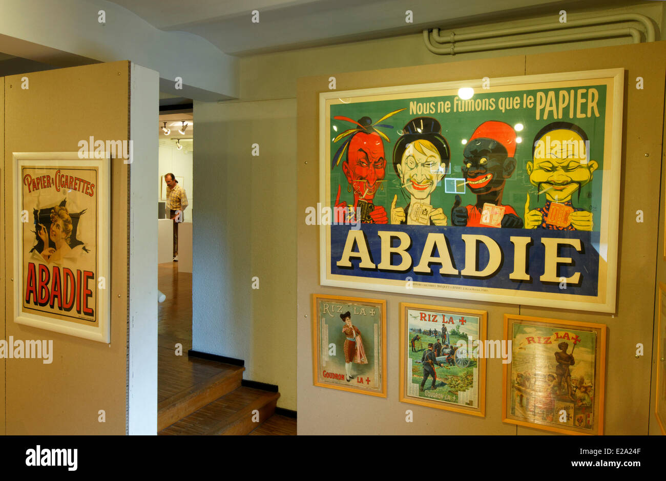 France, Charente, Angouleme, Musee du Papier (Paper museum) - Stock Image