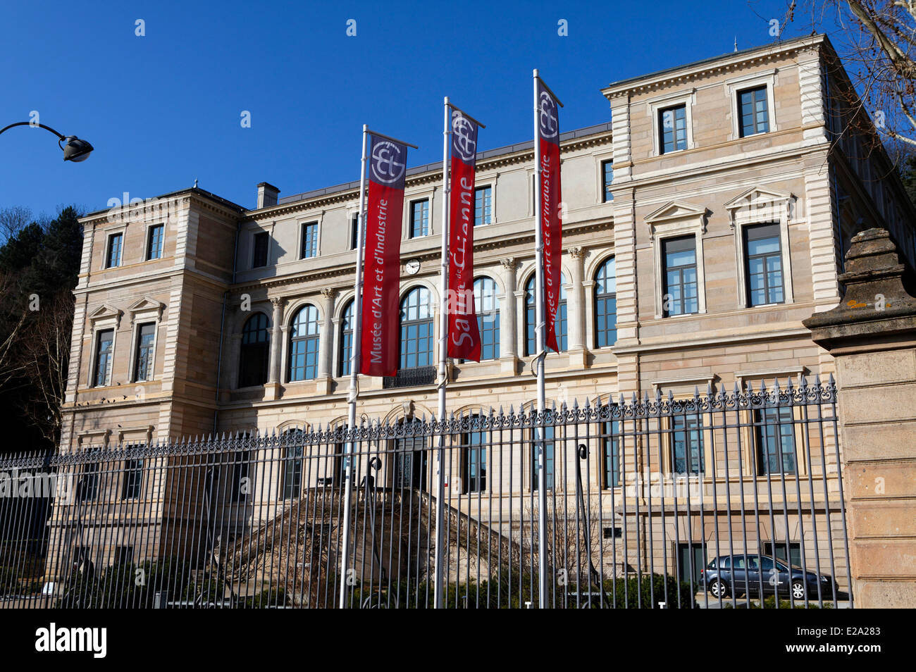 France, Loire, Saint Etienne, the museum of Art and Industry - Stock Image