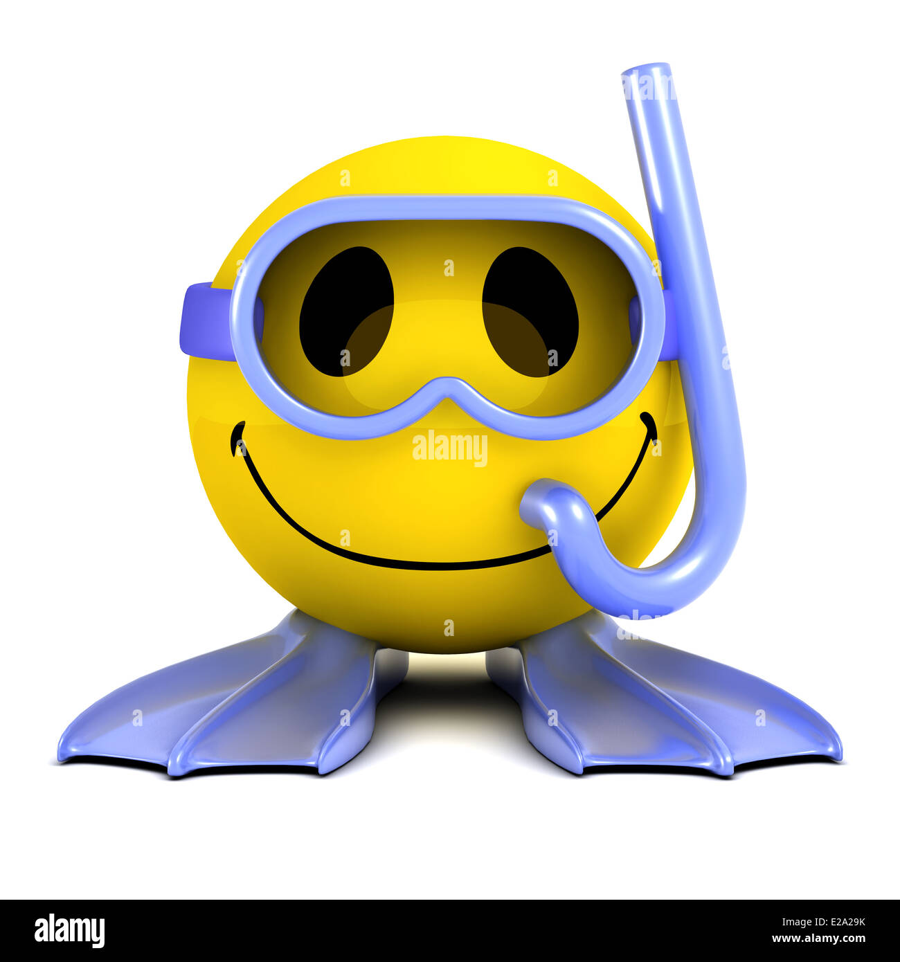 3d smiley face wearing goggles  a snorkel and swimming scuba diver clipart images scuba diver clipart free