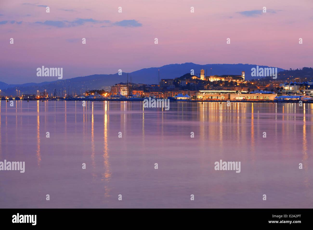 France, Alpes Maritimes, Cannes, Le Suquet District - Stock Image