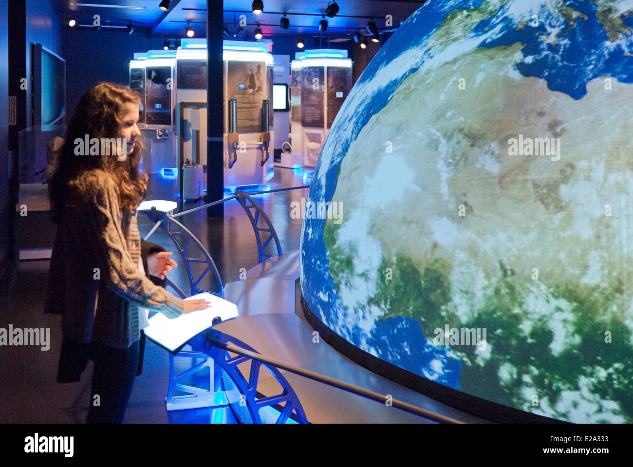 Canada, Ontario Province, Ottawa, Science and Technology Museum - Stock Image