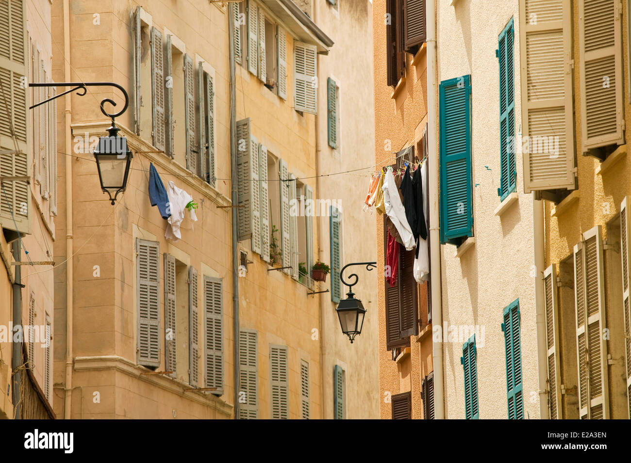 France, Bouches du Rhone, Marseille, european capital of culture 2013, 2nd district, Panier district - Stock Image