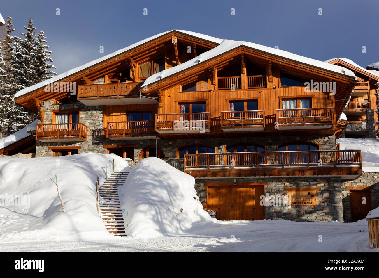France Savoie La Rosiere The Chalet Matsuzaka Hotel Spa Bed