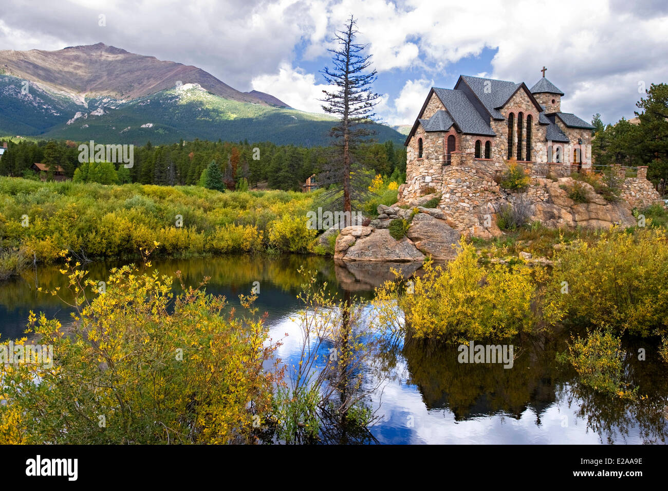 United States Colorado Rocky Mountain National Park St Malo