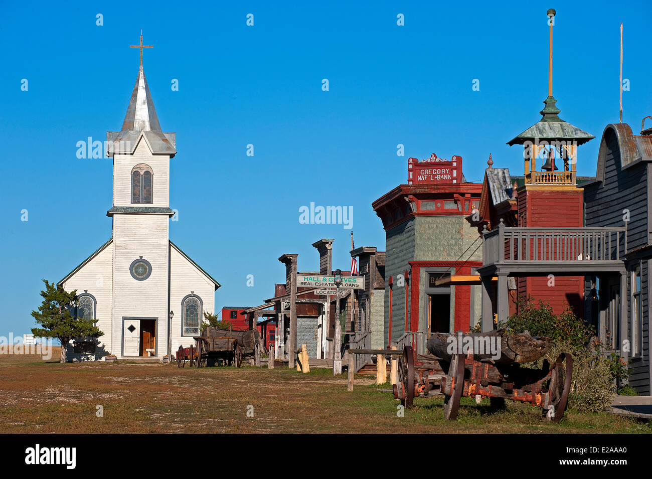 United States South Dakota The 1880 Town Consists Mainly