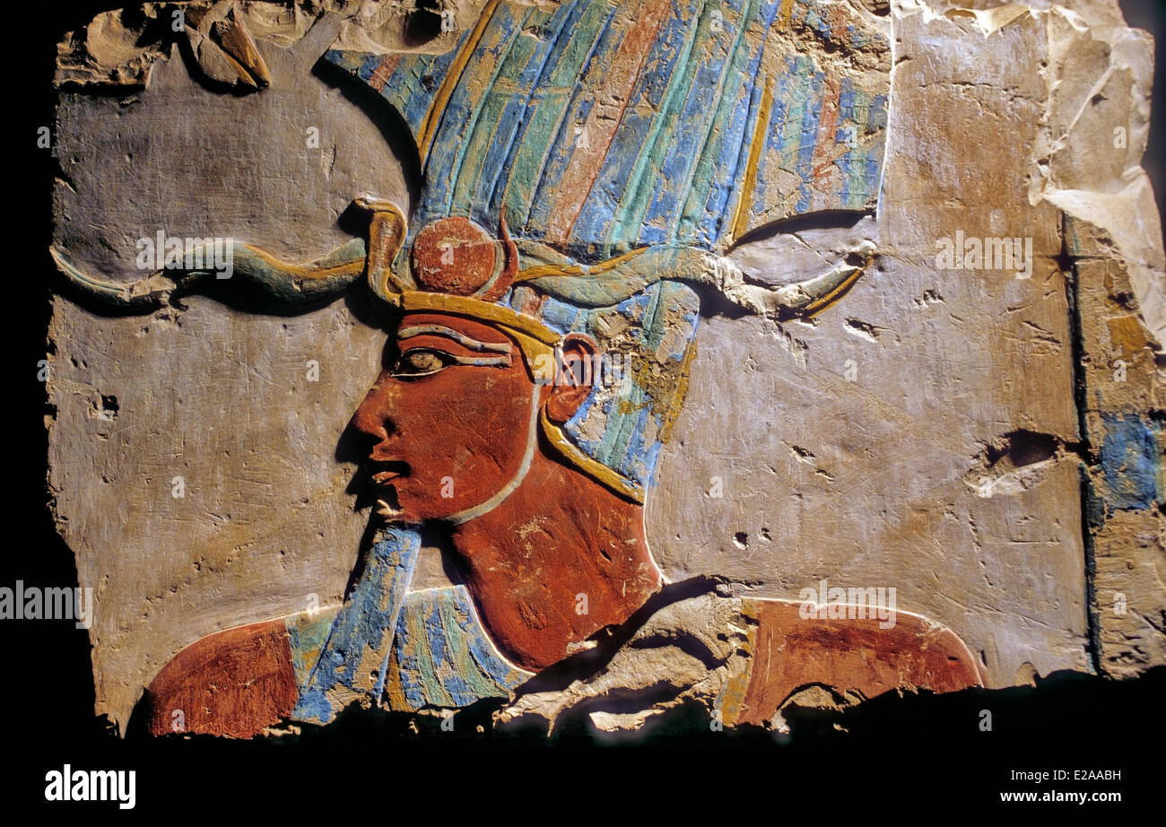 Egypt, Upper Egypt, Nile Valley, Luxor, Luxor Temple listed as World Heritage by UNESCO, the temple of Ramses II - Stock Image