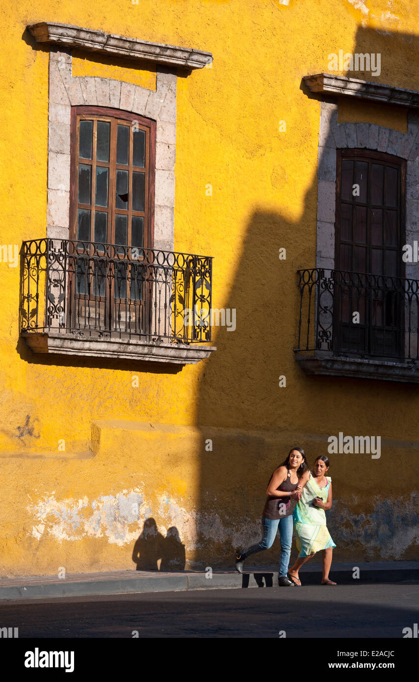 Mexico, Michoacan state, Morelia, listed as World Heritage by UNESCO - Stock Image