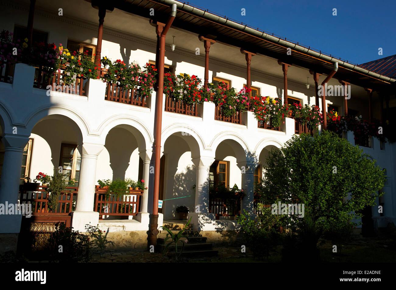 Romania, Bukovina Region, Neamt monasteries, Agapia monastery - Stock Image