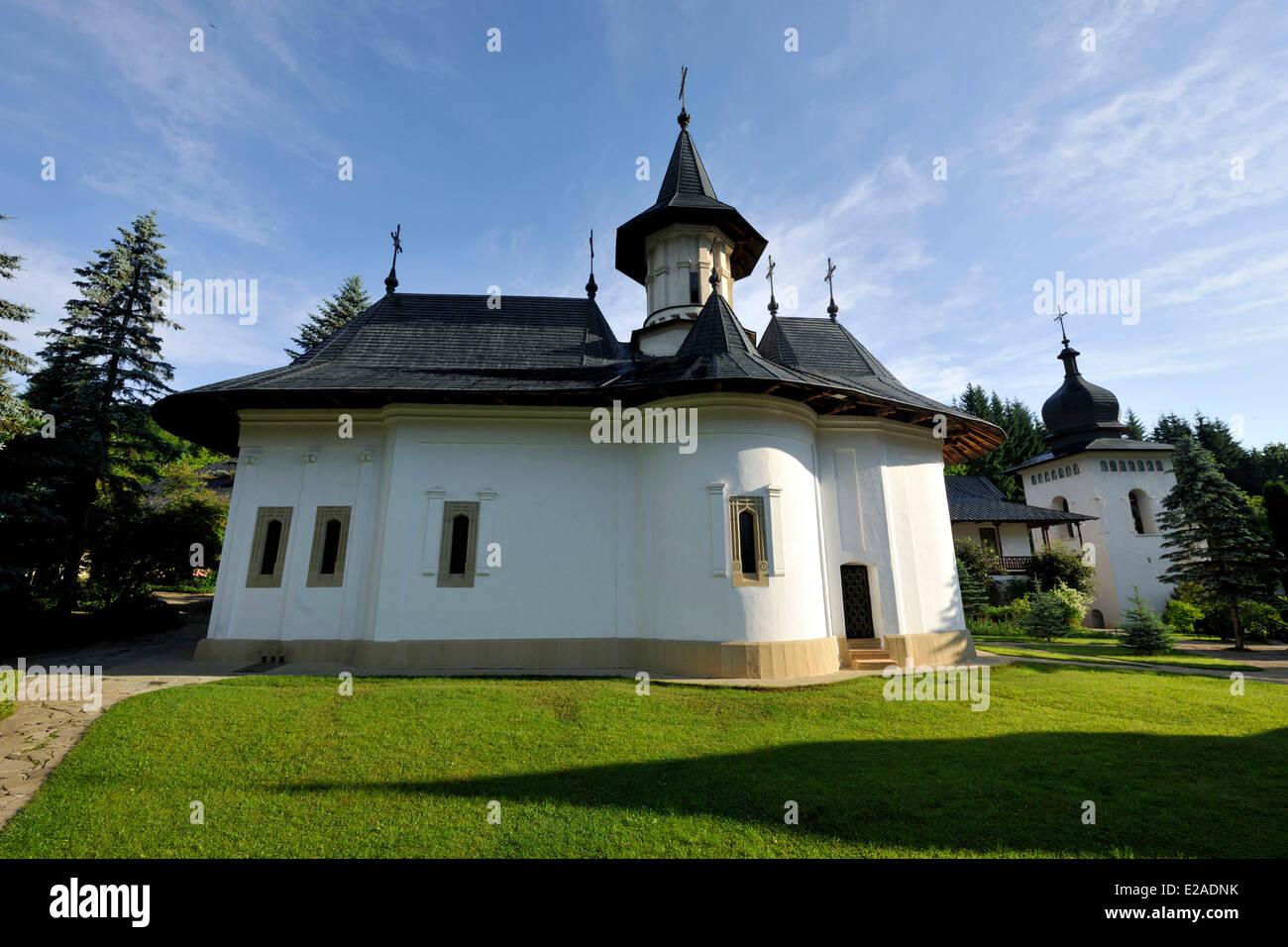 Romania, Bukovina Region, Neamt monasteries, Sihastria monastery - Stock Image