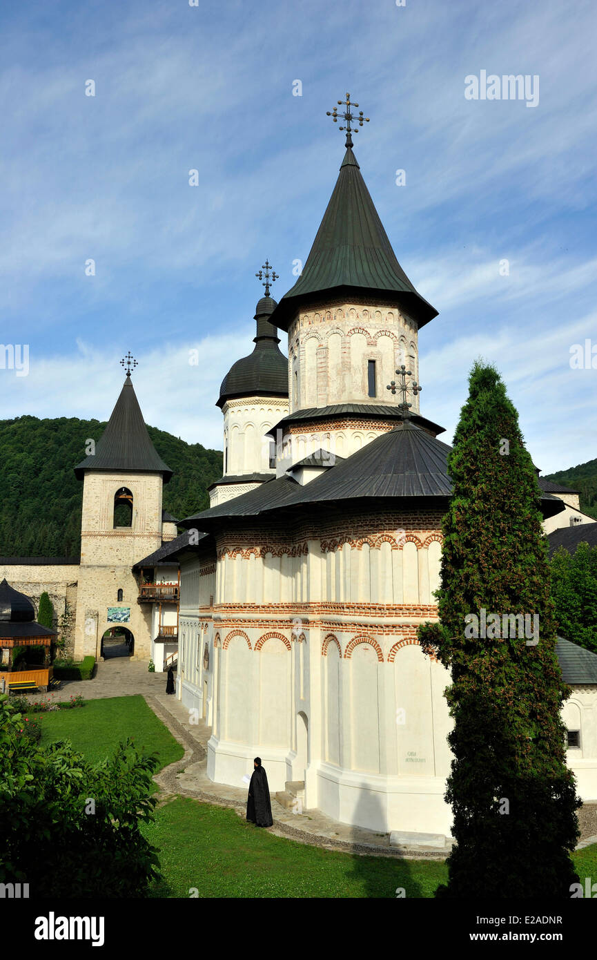 Romania, Bukovina Region, Neamt monasteries, Secu monastery - Stock Image