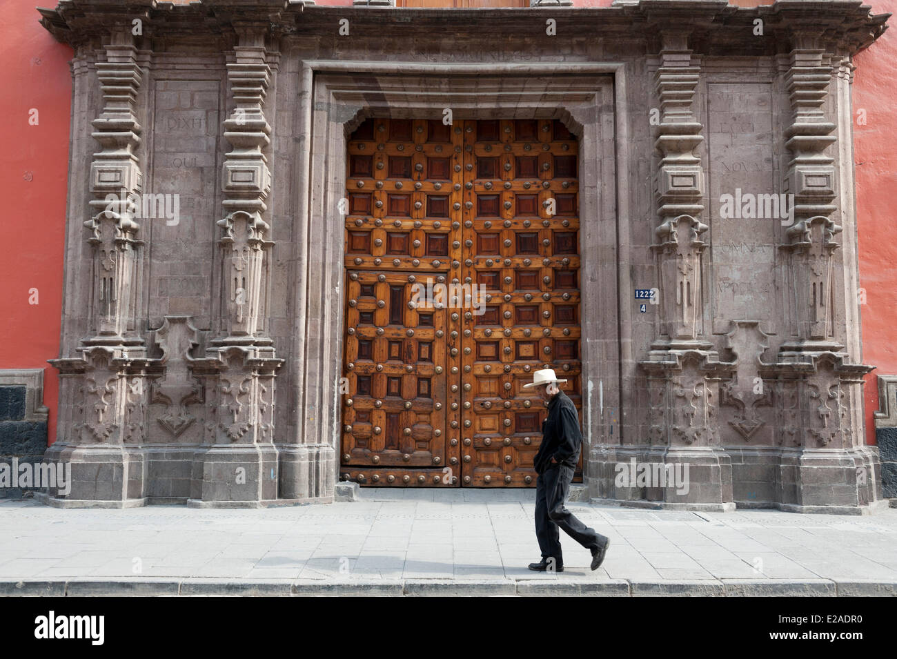 Mexico, Federal District, Mexico city, historical center listed as World Heritage by UNESCO - Stock Image