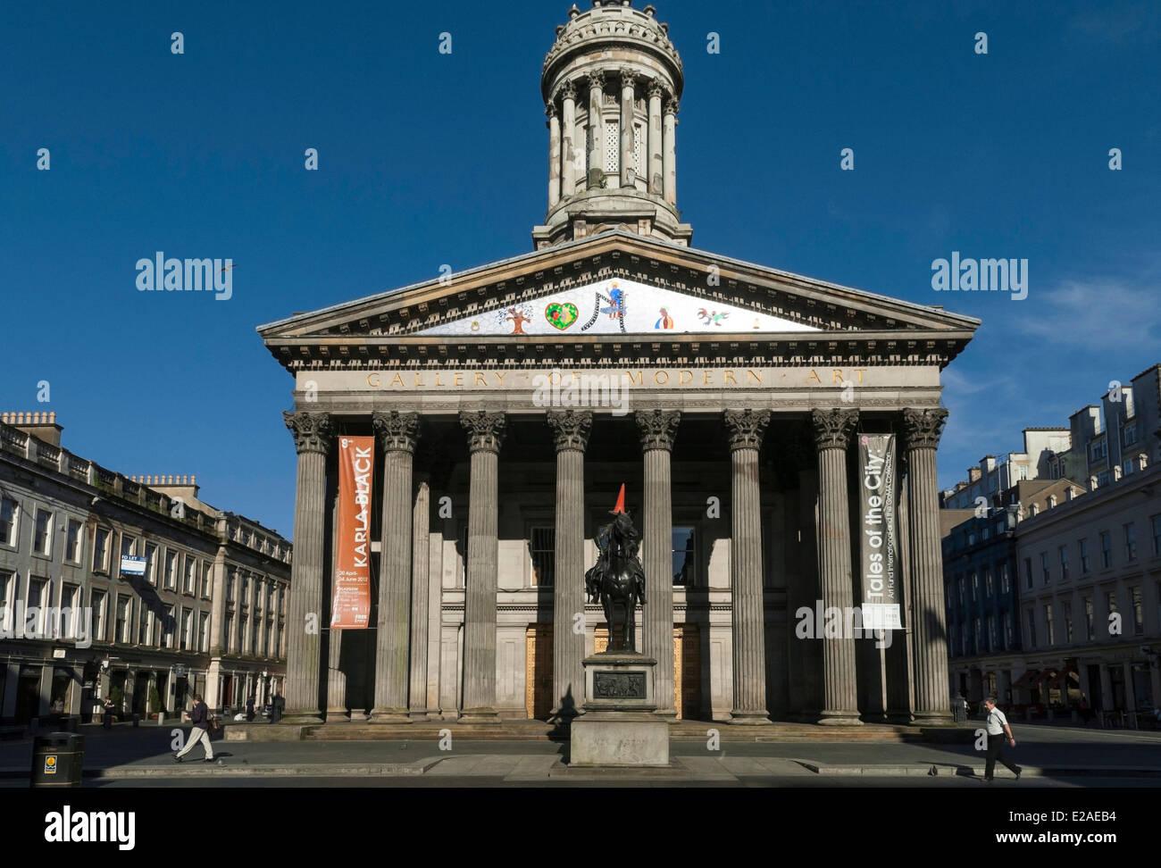 United Kingdom Scotland Glasgow Downtown Goma Gallery
