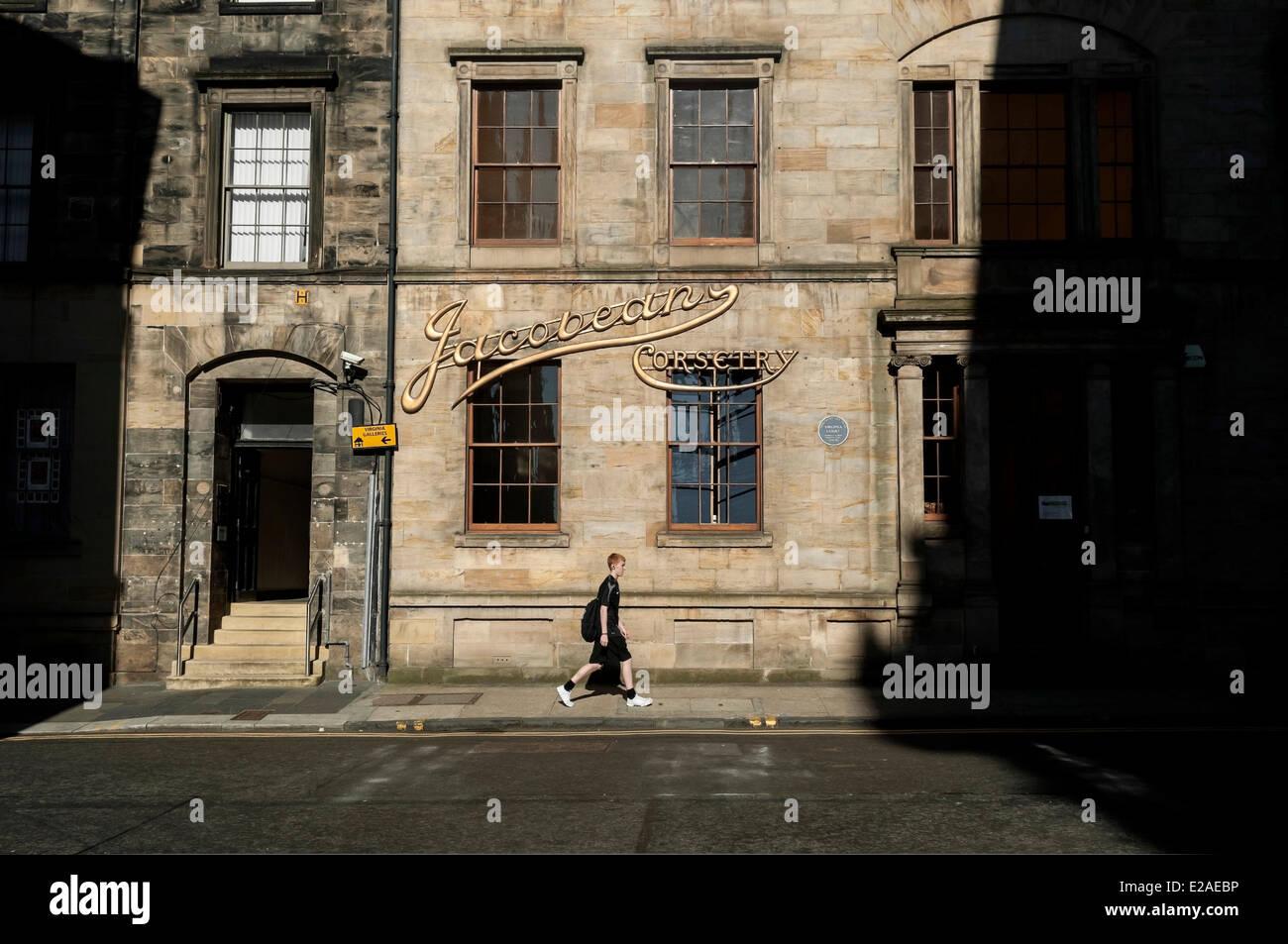 United Kingdom Scotland Glasgow Downtown Stock Photos