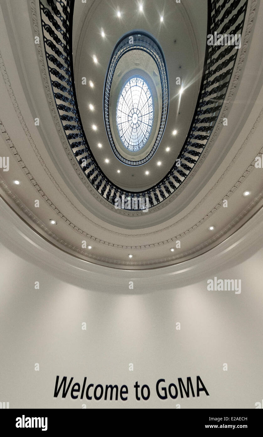 United Kingdom, Scotland, Glasgow, downtown, GOMA (Gallery of Modern Art) - Stock Image