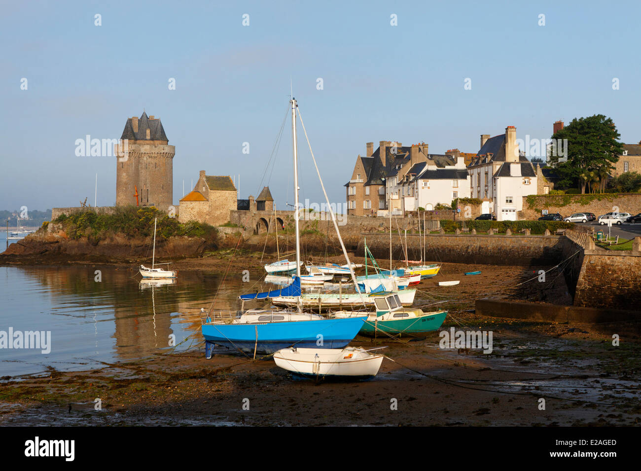France, Ille et Vilaine, Saint Malo, the handle and turn Solidor - Stock Image