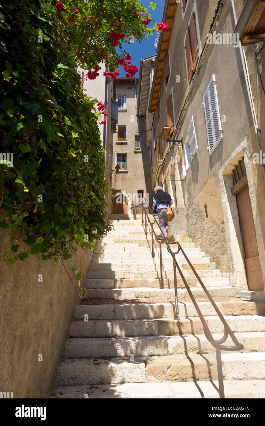 France, Gers, Auch, stop on El Camino de Santiago, Pousterle de Paris - Stock Image