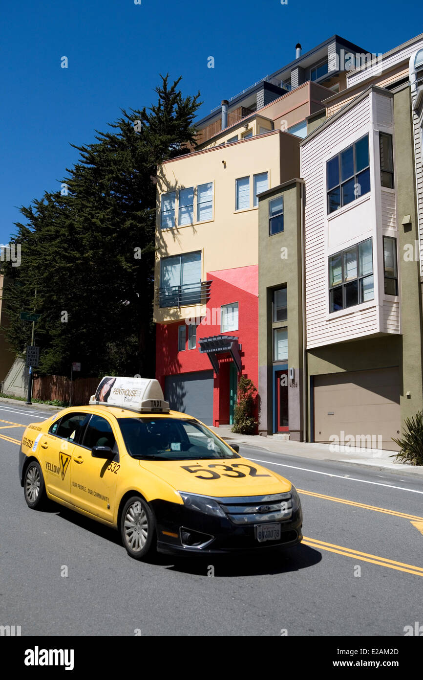 San Francisco Taxi Cab Stock Photos & San Francisco Taxi Cab