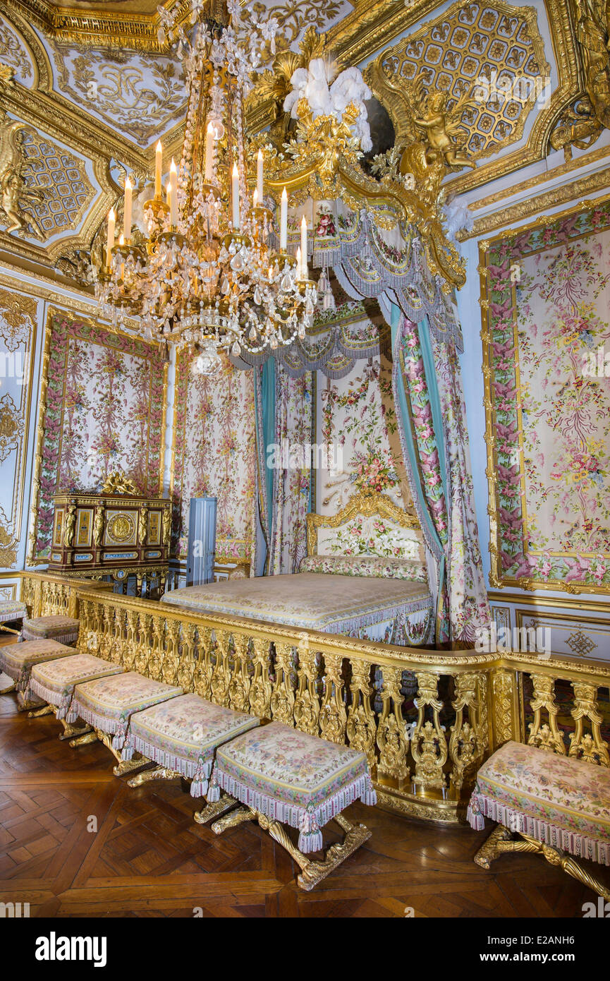 /France, Yvelines, Chateau de Versailles, listed as World Heritage by UNESCO, Les Grands Appartements (State Apartments), - Stock Image