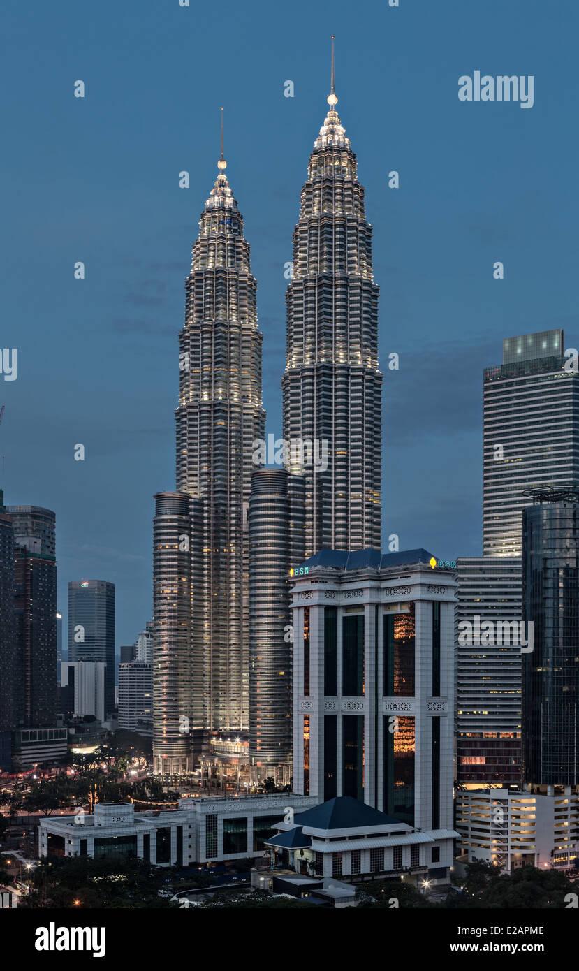 Petronas Towers - Stock Image