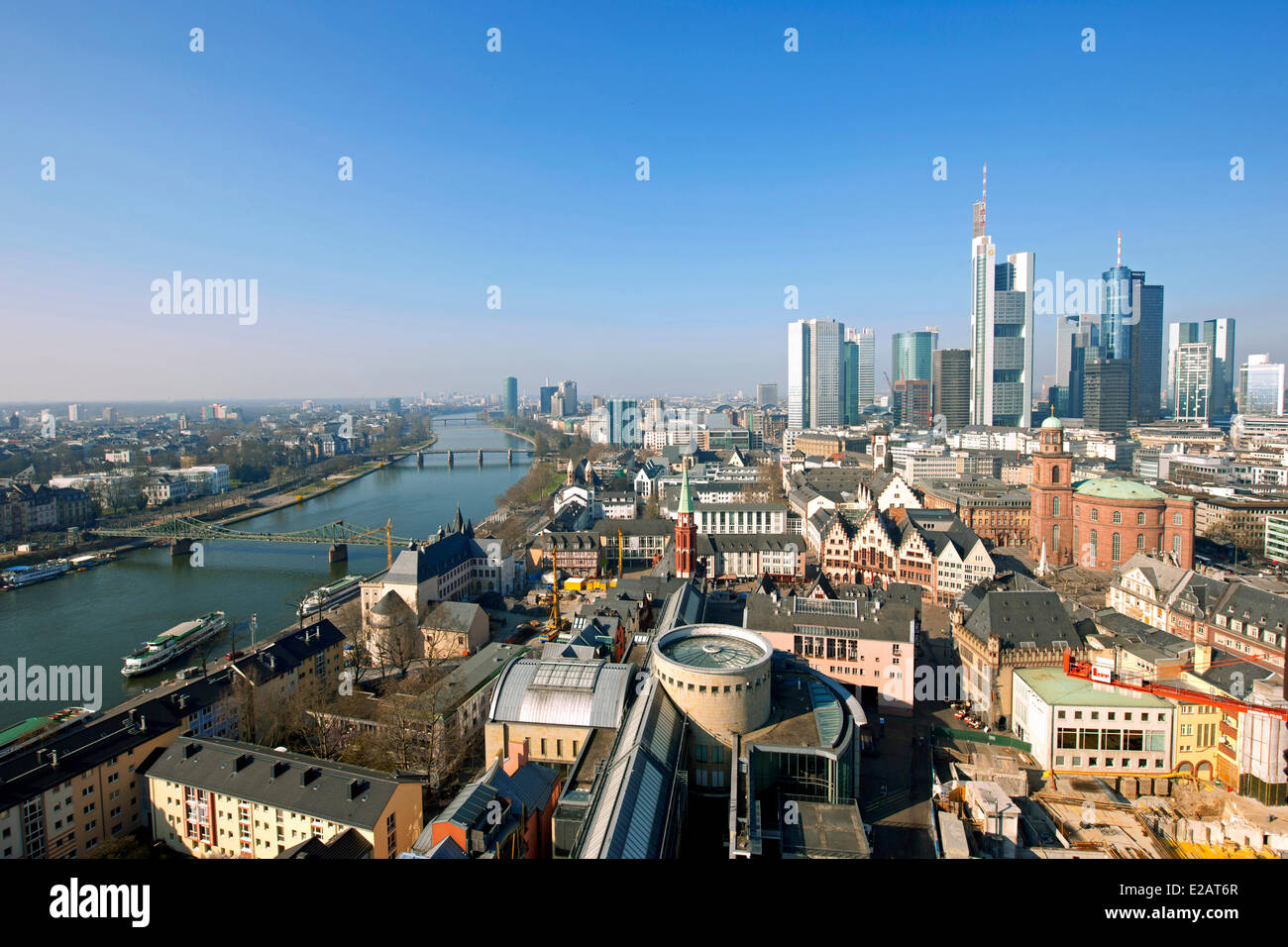 Germany, Hesse, Frankfurt Am Main, General View From The