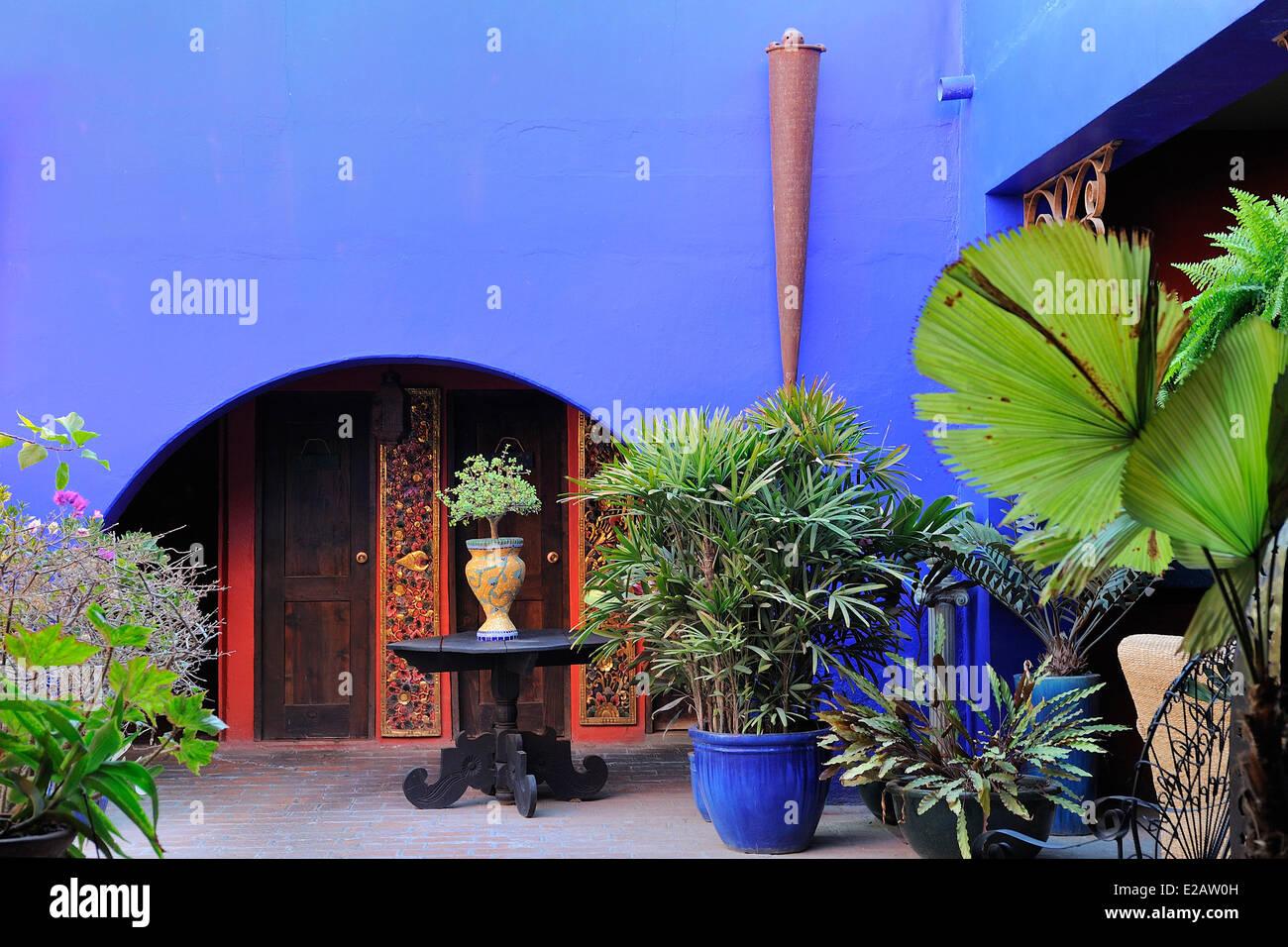 Mexico, Baja California Sur State, Todos Santos, Hotel California - Stock Image