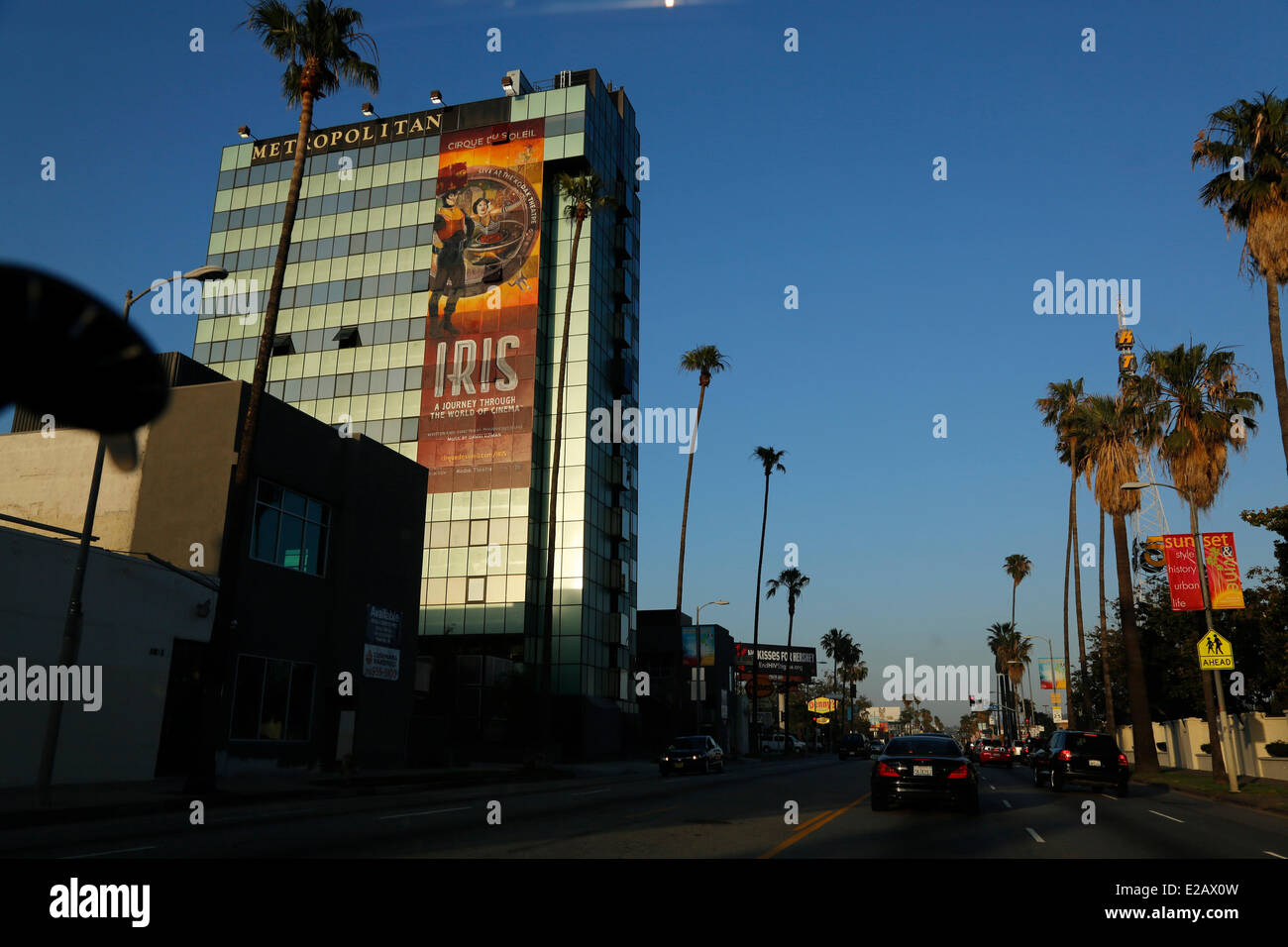 United States, California, Los Angeles, Wilshire Bd - Stock Image