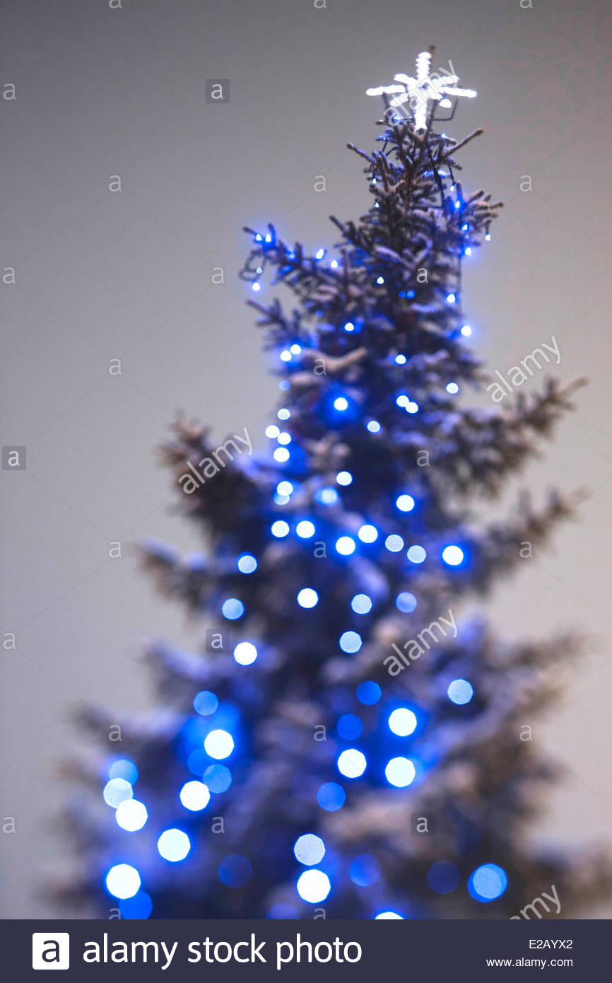 Finland, Lapland, Levi, detail of Christmas decoration - Stock Image
