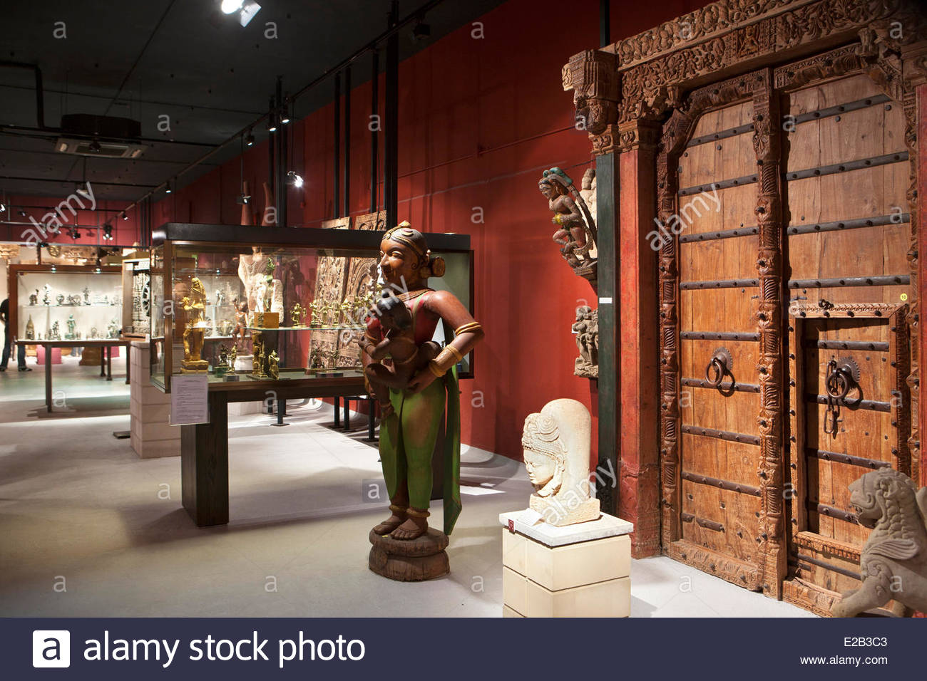 France, Pyrenees Atlantiques, Basque Country, Biarritz, Asiatica museum, museum of Asian Art - Stock Image