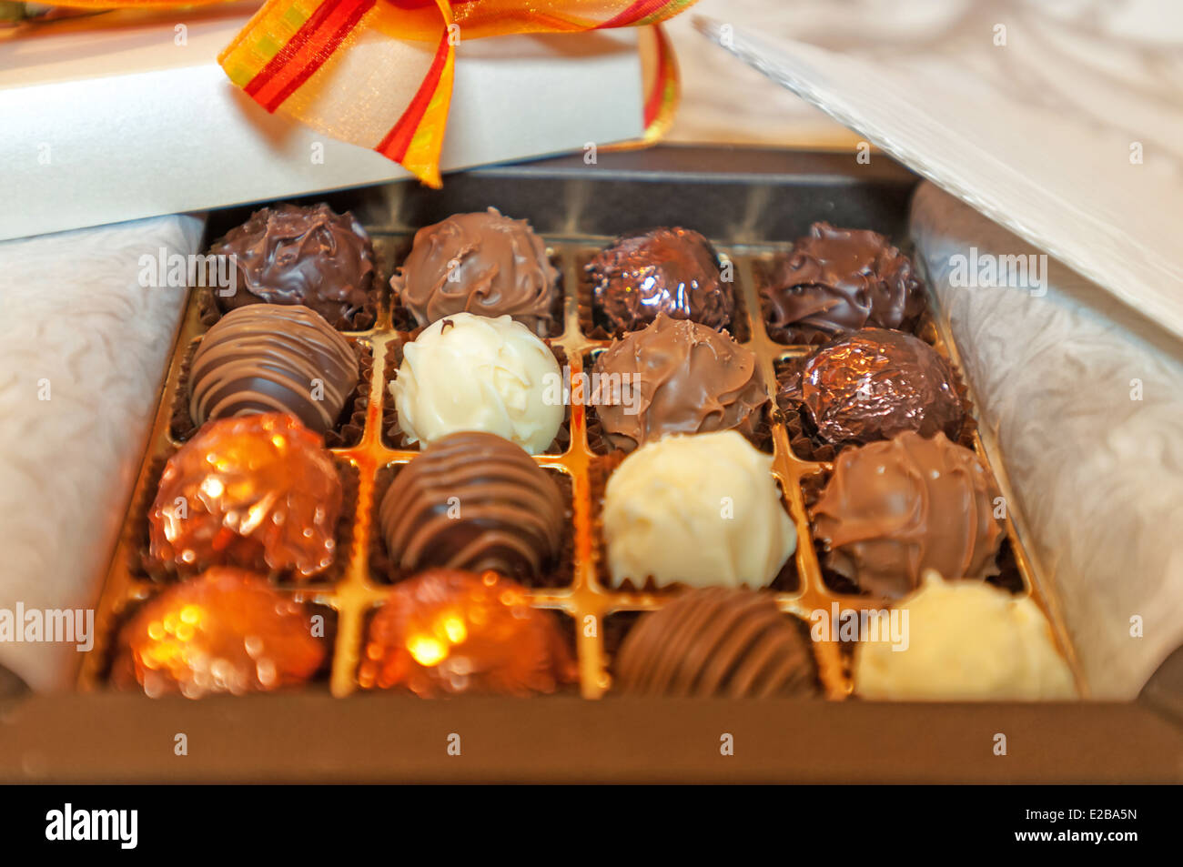 -Bonbons- Switzerland Sweets. - Stock Image