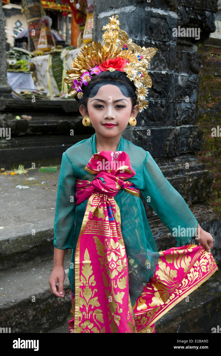 Traditional Costume Of Bali Stock Photos Traditional Costume Of