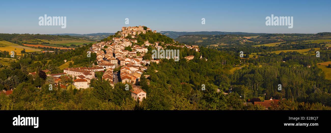 France, Tarn, Cordes sur Ciel, stop on the route of Santiago de Compostela - Stock Image