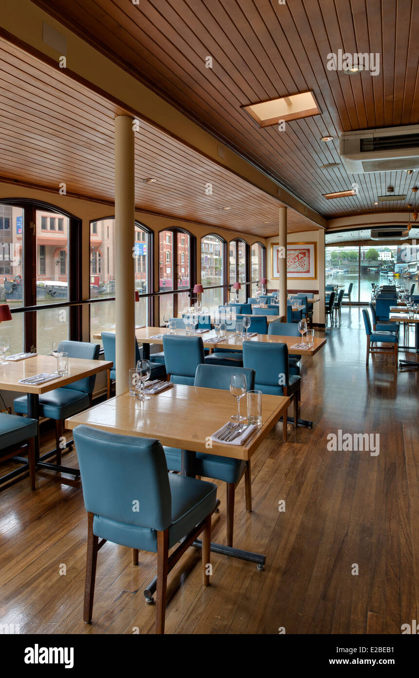 The Glass Boat Restaurant Bristol Docks UK