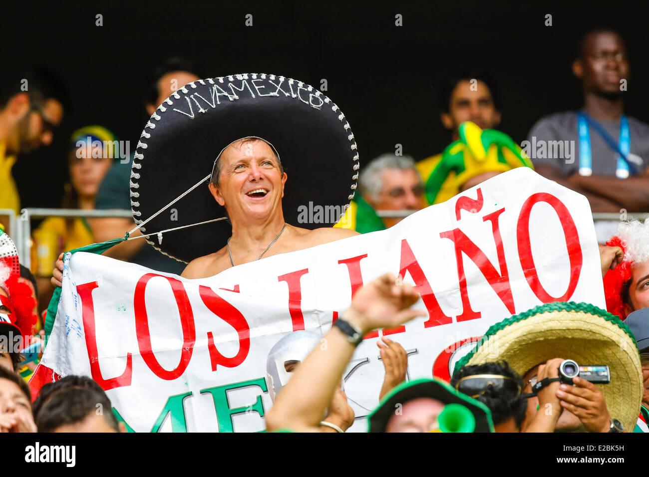 Fans, Fussballfans, supporters, spectators, Zuschauer, Jacke, Kutte, Weste, Fankurve Bemalung im Gesicht, Gesichtsbemalung, - Stock Image