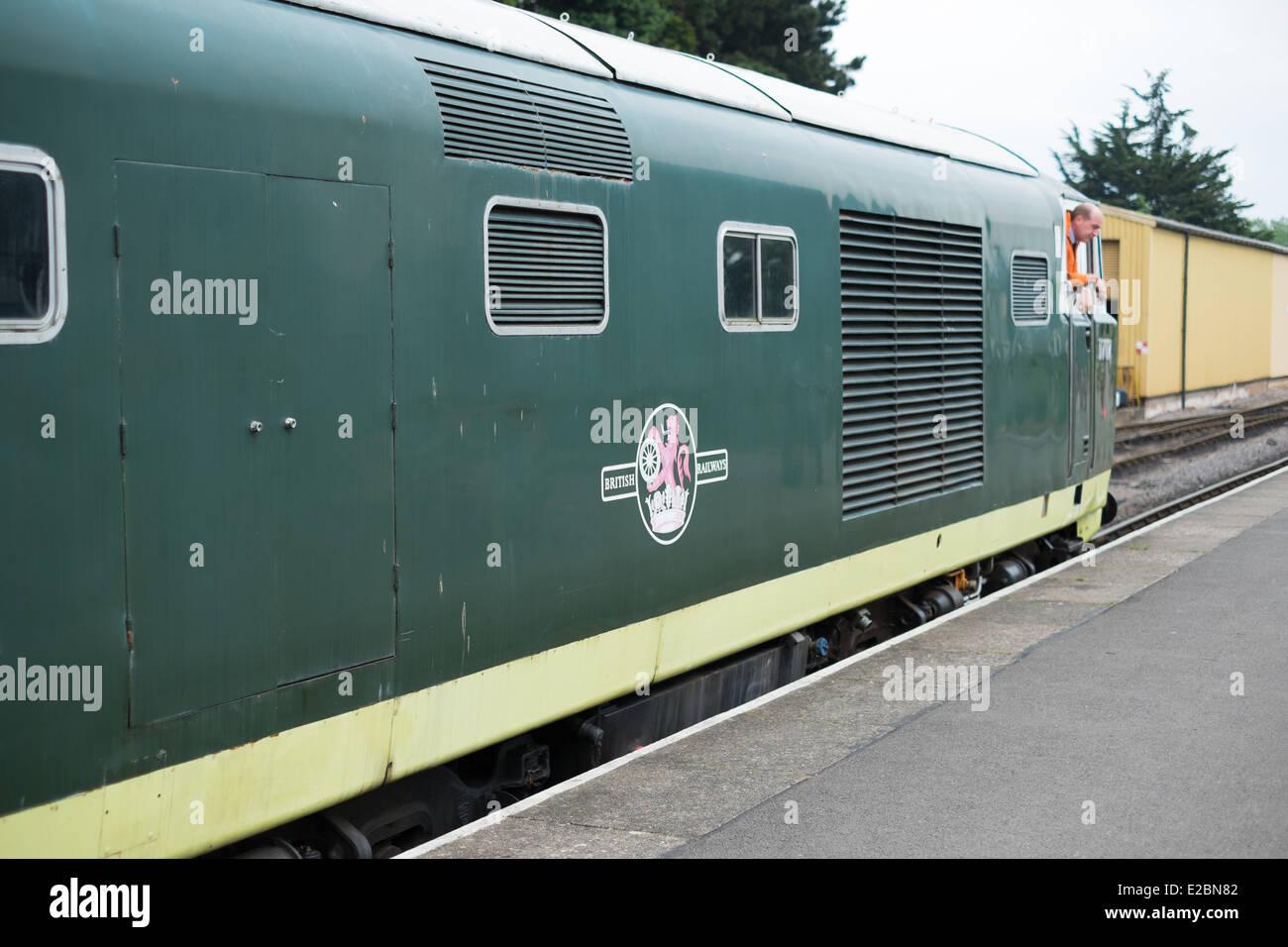 Beyer Peacock Hymek diesel locomotive - Stock Image