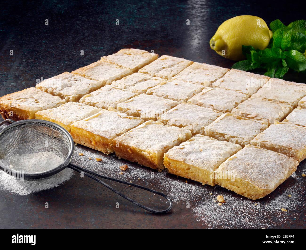 Lemon Squares - Stock Image