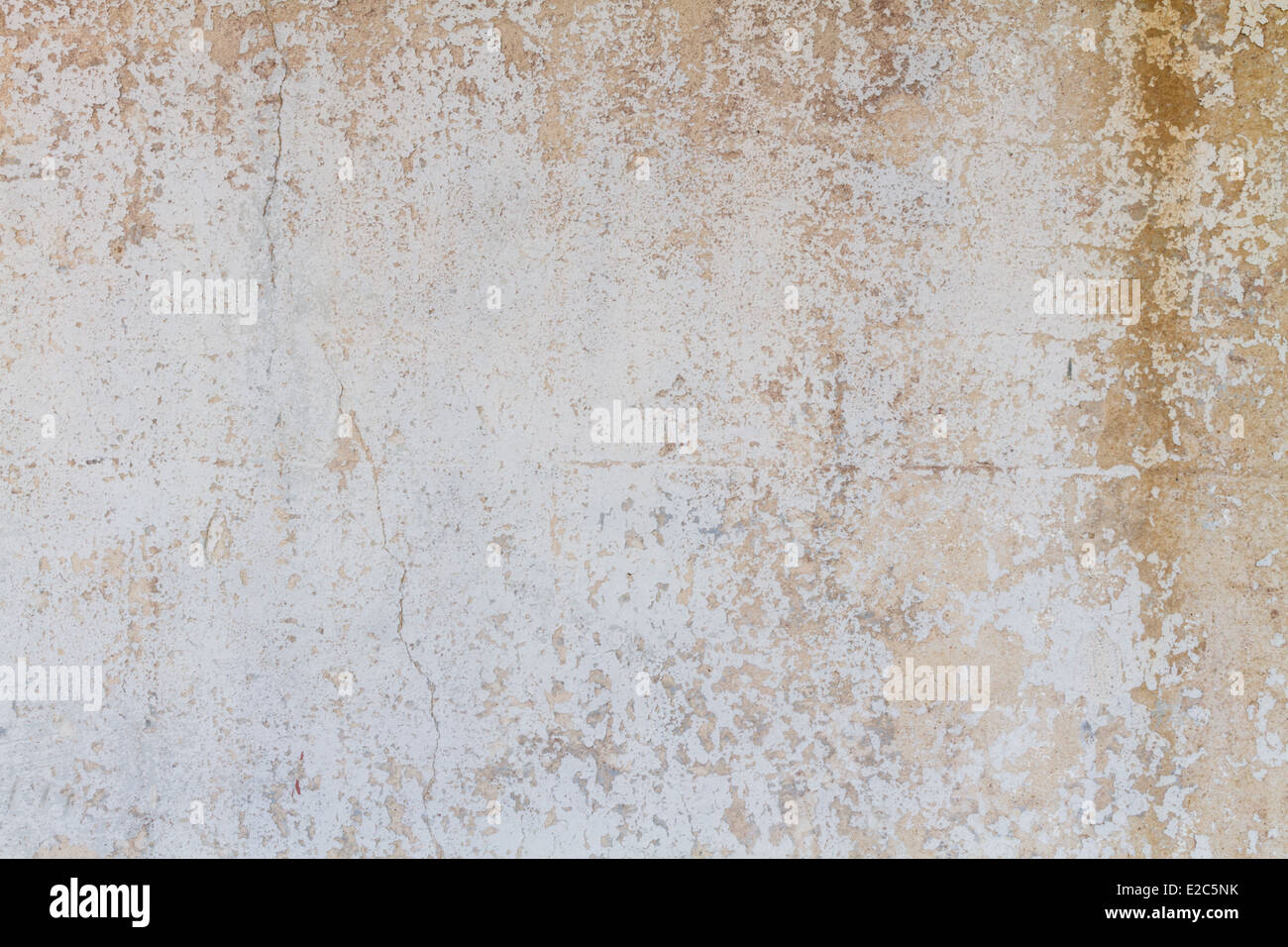 Rough textured peeled paint background. - Stock Image