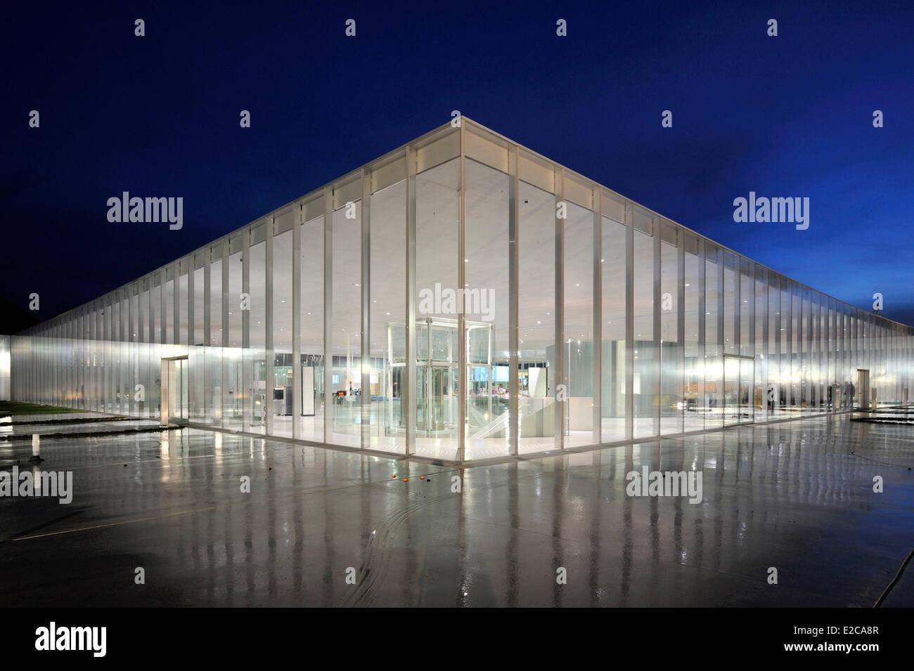 France Pas De Calais Lens Lens Louvre Museum Designed