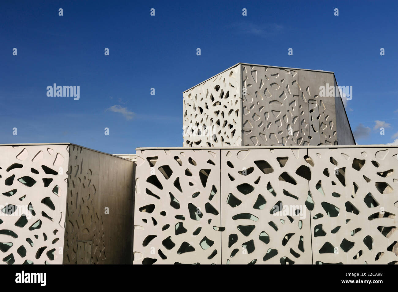 France, Nord, Villeneuve d'Ascq, LAM (Lille Metropole Museum of Modern Art, contemporary art and art brut), - Stock Image