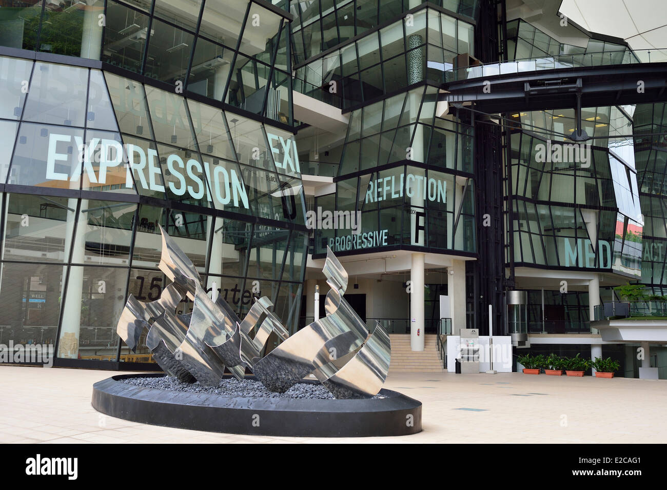 Singapore The Lasalle College Of The Arts Is A Specialist Tertiary Stock Photo Alamy