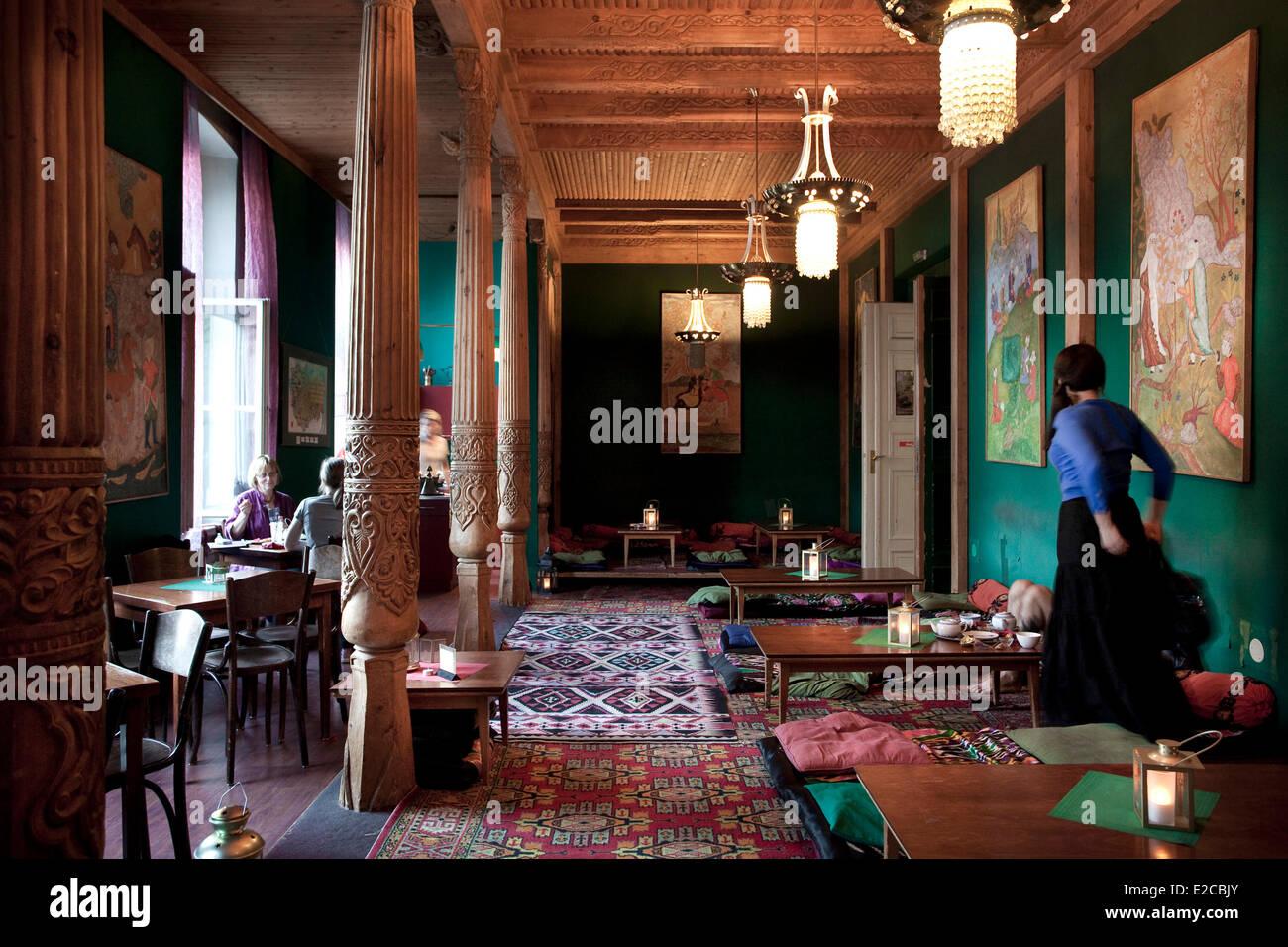 Germany, Berlin, Mitte, Tajikistan Tea Room - Stock Image
