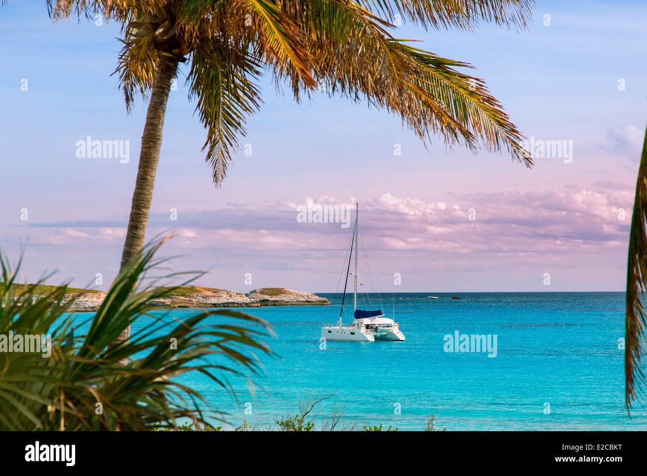 Bahamas, Eleuthera Island, Lighthouse Bay - Stock Image