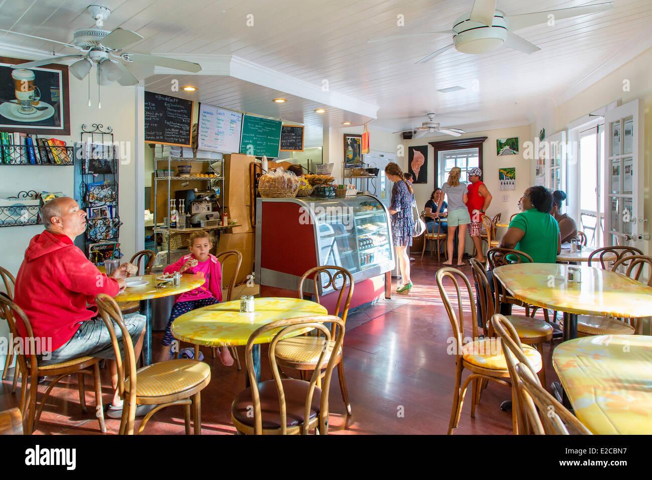 Bahamas, Harbour Island, Arthur's Bakery - Stock Image