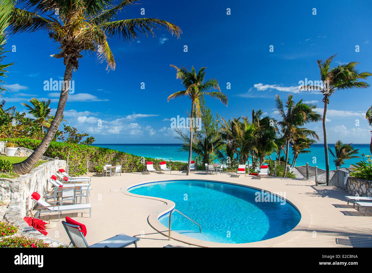 Bahamas, Harbour Island, Coral Sands Hotel - Stock Image