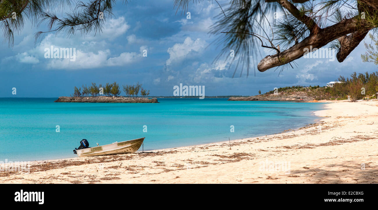 Bahamas, Eleuthera Island, Gaulding Cay - Stock Image