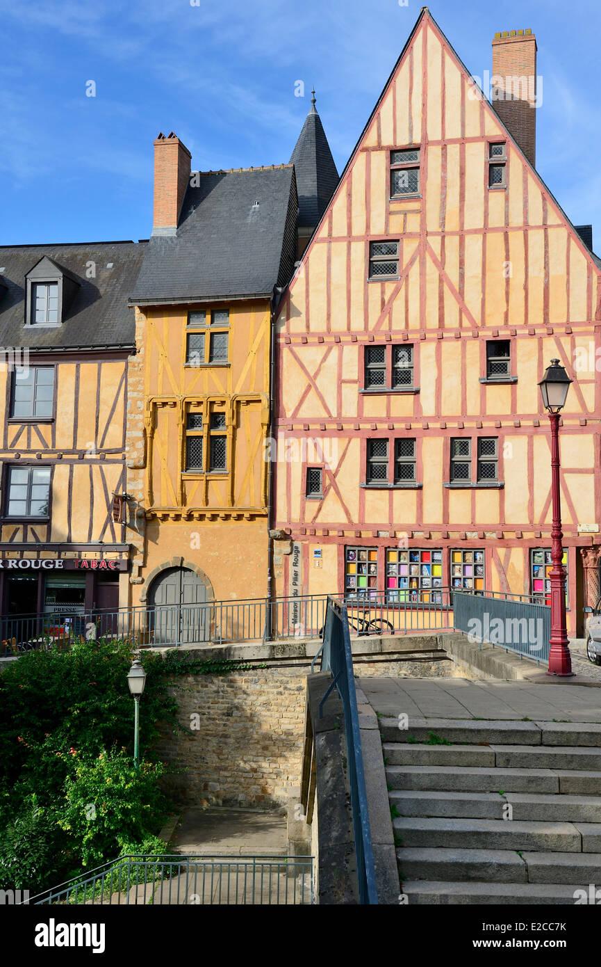 Architecte Le Mans france, sarthe, le mans, cite plantagenet , half timbered